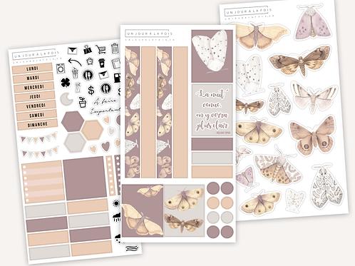 Kit Papillons de nuit || 3 feuilles