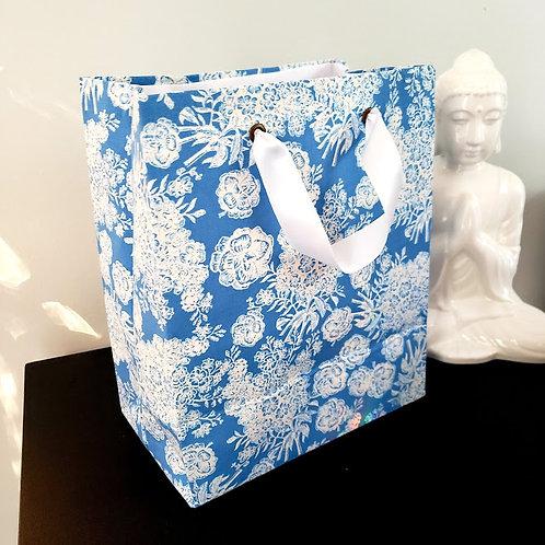 Sac cadeau réutilisable en tissu | Moyen