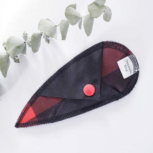 Protège-dessous tong réutilisable | Carotté rouge