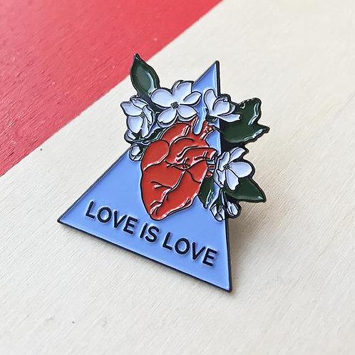 Épinglette Love is love