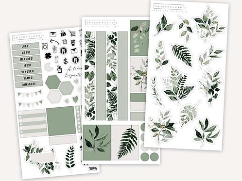 Kit Botania || 3 feuilles