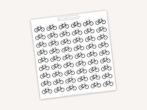 Vélo || 54 autocollants