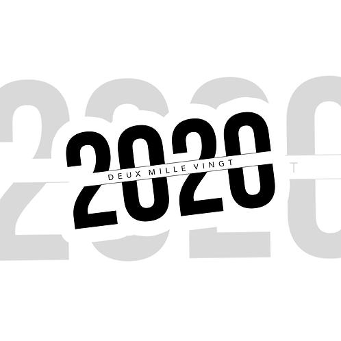 2020 || 1 autocollant