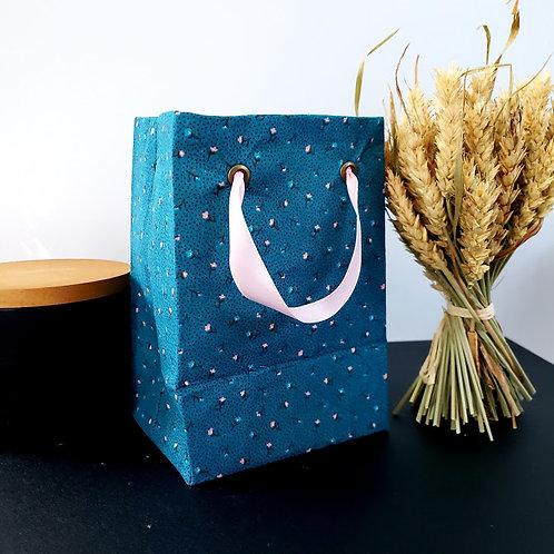 Sac cadeau réutilisable en tissu | Petit