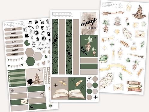 Kit MAGIQUE || 3 feuilles