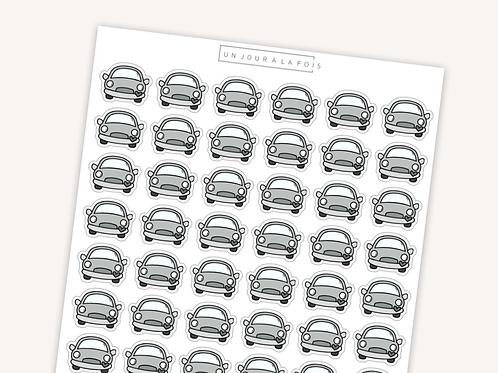 Voiture || 42 autocollants | #41