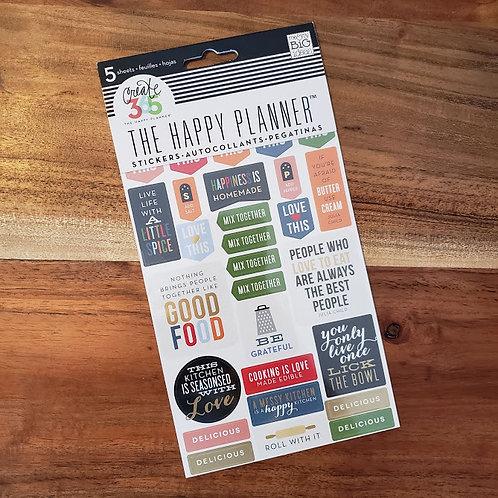 Autocollants The Happy Planner