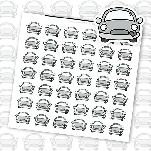 Voiture || 42 autocollants