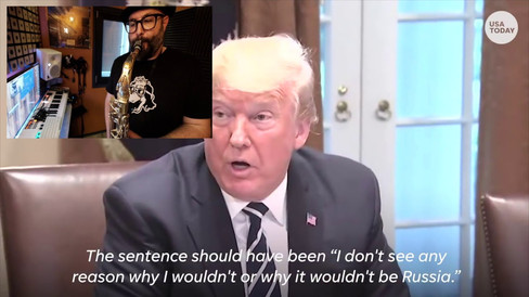 Trump Speech Jazzified