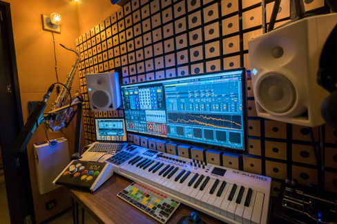 how to record a song in a studio