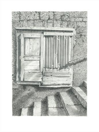 Old Greek Shop Front