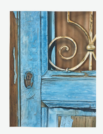 Old Greek Door