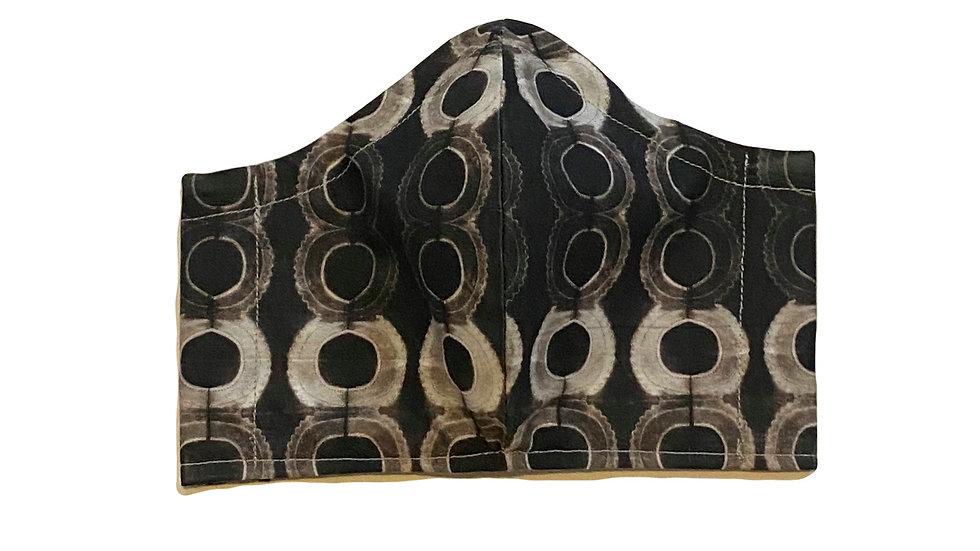 Shibori Mask by Draya