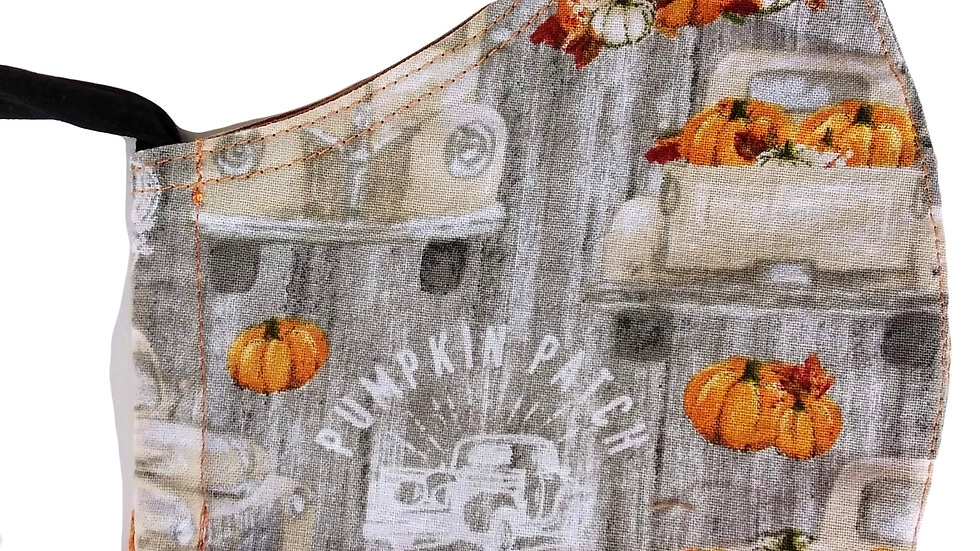 Pumpkin Patch Mask by Alfreda