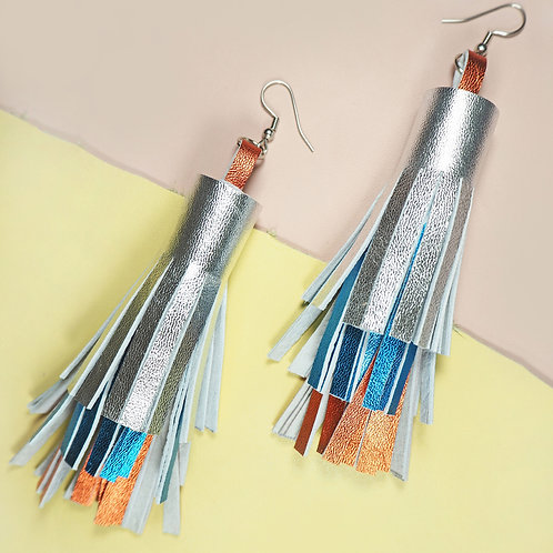 Bowie Leather Tassel
