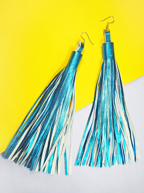 Havana Leather Tassel