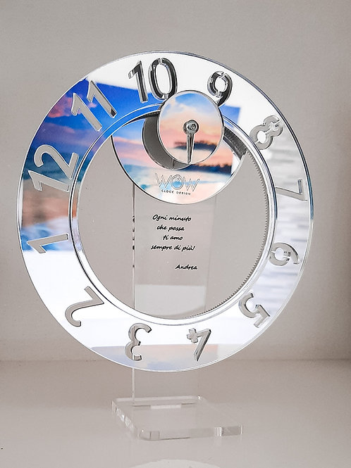 WoW Clock for Table PERSONALIZZABILE
