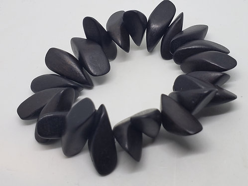 Black Shark Tooth Wrist Wear