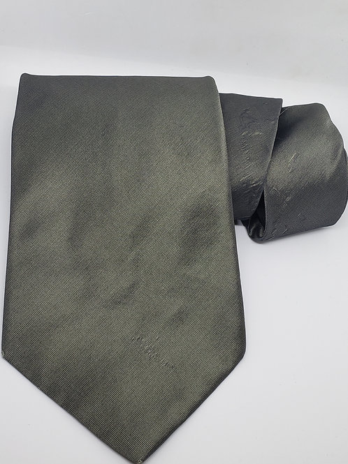 Dark Mettalic Grey Necktie