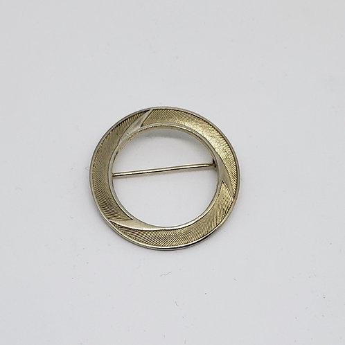 Vintage Gold Circle