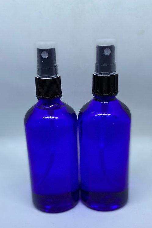 Two 4oz Haberdashed Bottled Hand Sanitizer Spray