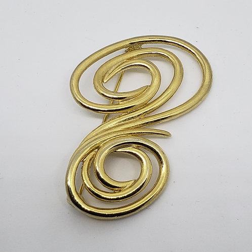 Golden Spiral Boutonniere