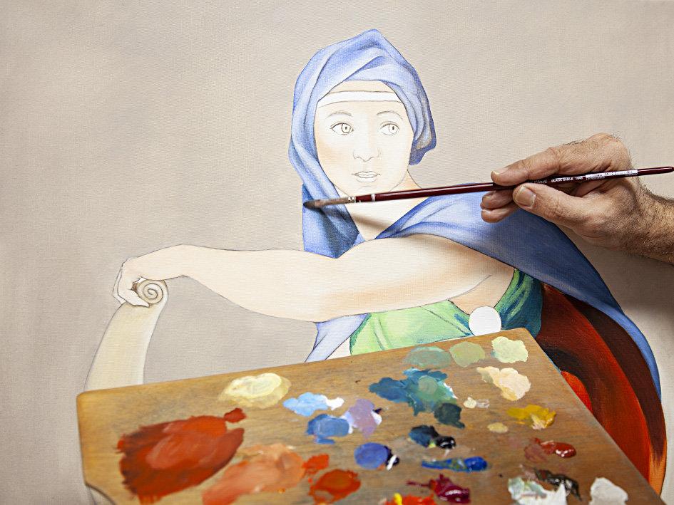 Ölmalerei