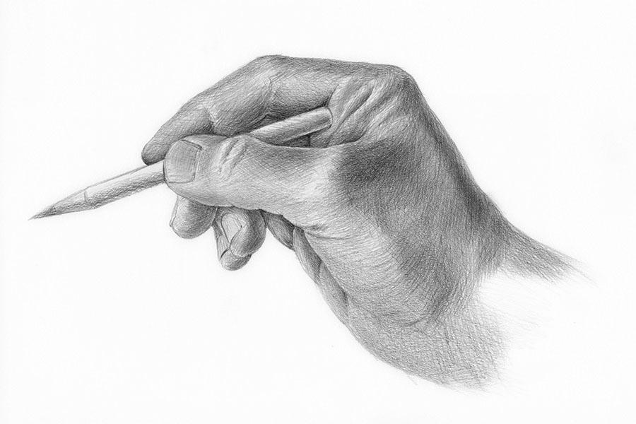 Zeichnung-Hand
