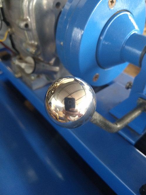 Clutch lever knob aluminium