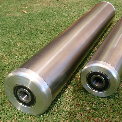 Front roller stainless steel with bearings & axil