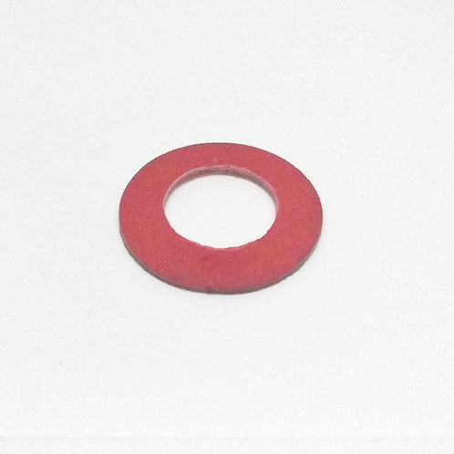 Fibre washer for brass thrust pad