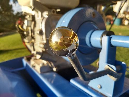 Clutch lever knob brass