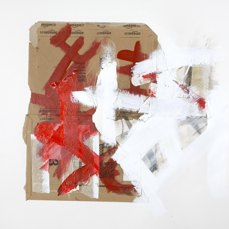 AP Ec 8_1, 2015, tecnica mista, cartone su carta, cm 70 x 70