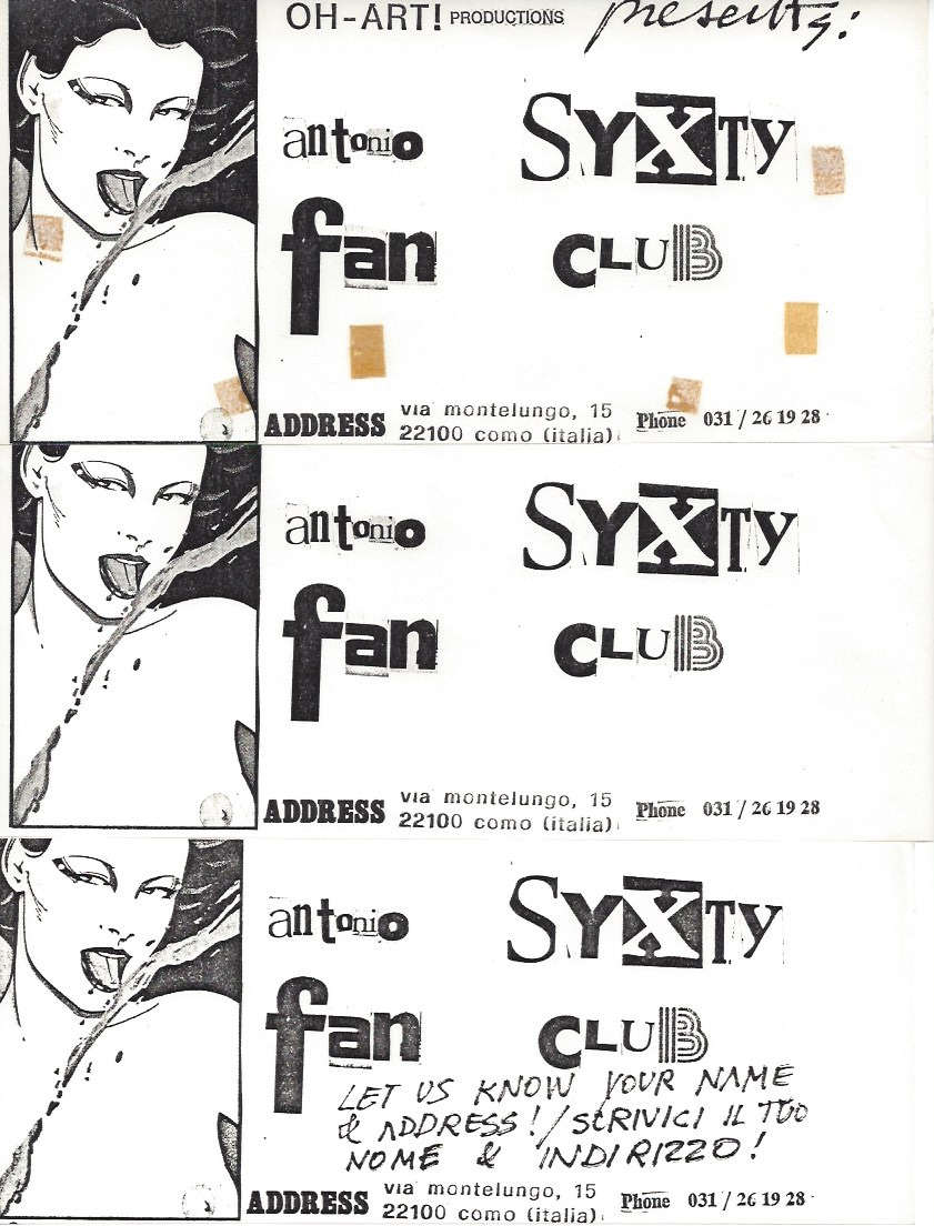 ANTONIO SYXTY FAN CLUB - materiali_Page_1