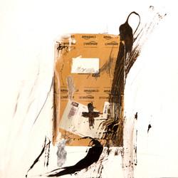 AP Ec 10_1, 2015, tecnica mista, cartone su tela, cm 60 x 60