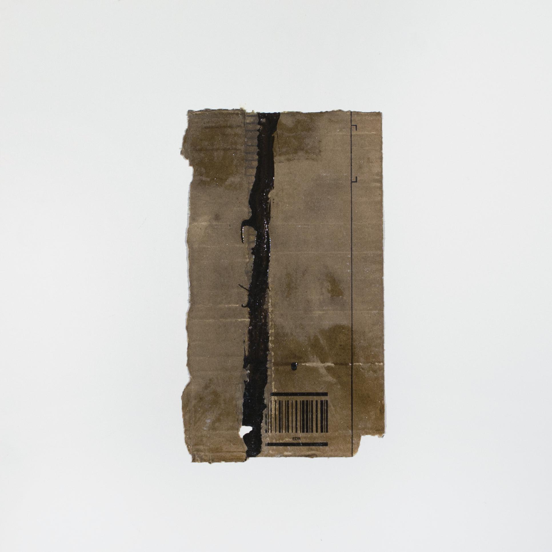 AP Ec 7_19, 2015, tecnica mista, cartone su carta, cm 50 x 50