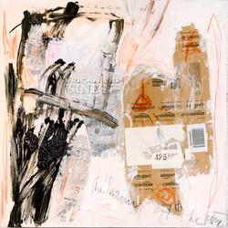 AP Ec 5_9-10, 2015, tecnica mista, cartone su tela, cm 60 x 60