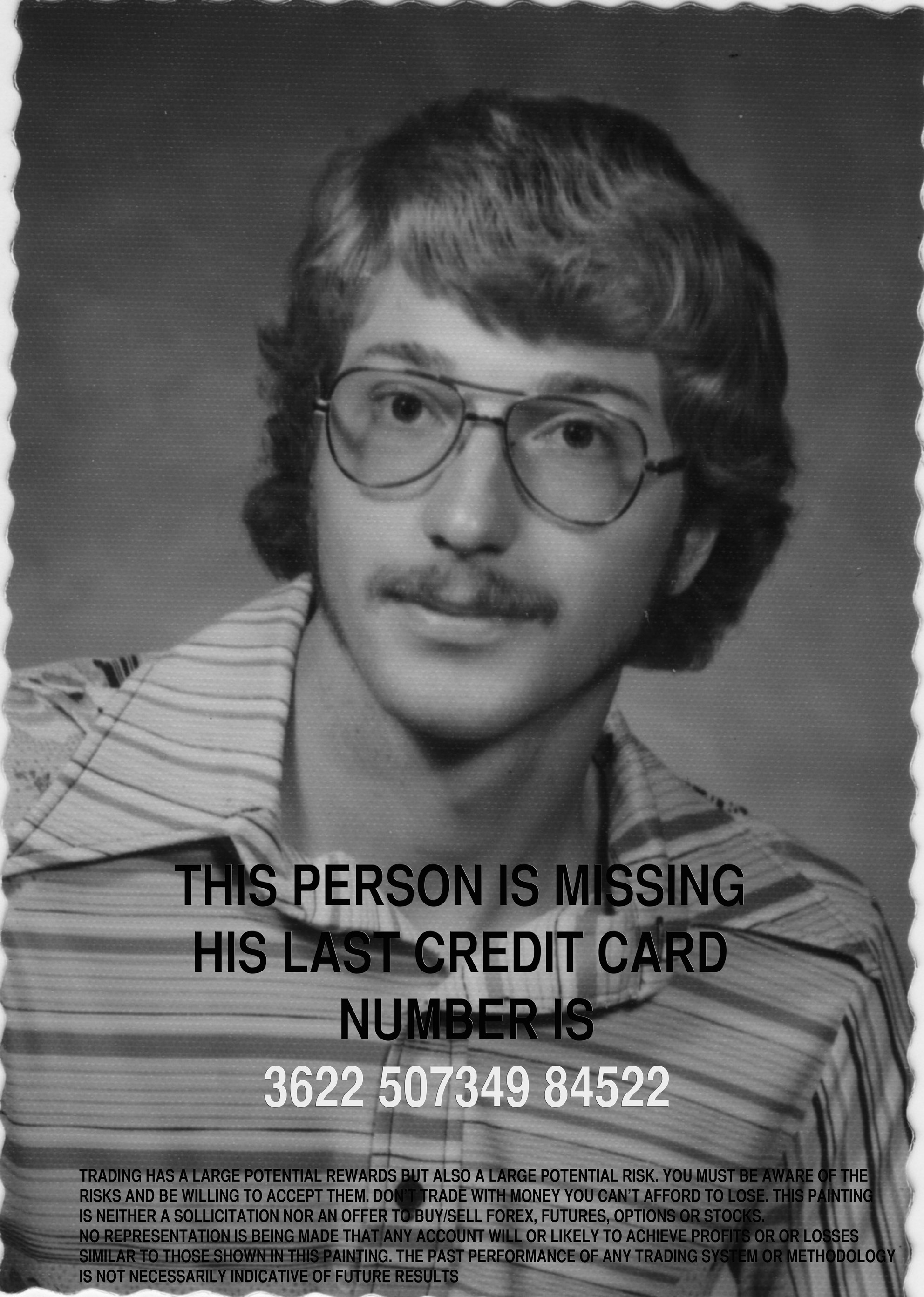 MISSING PERSON 3622 507349 84522