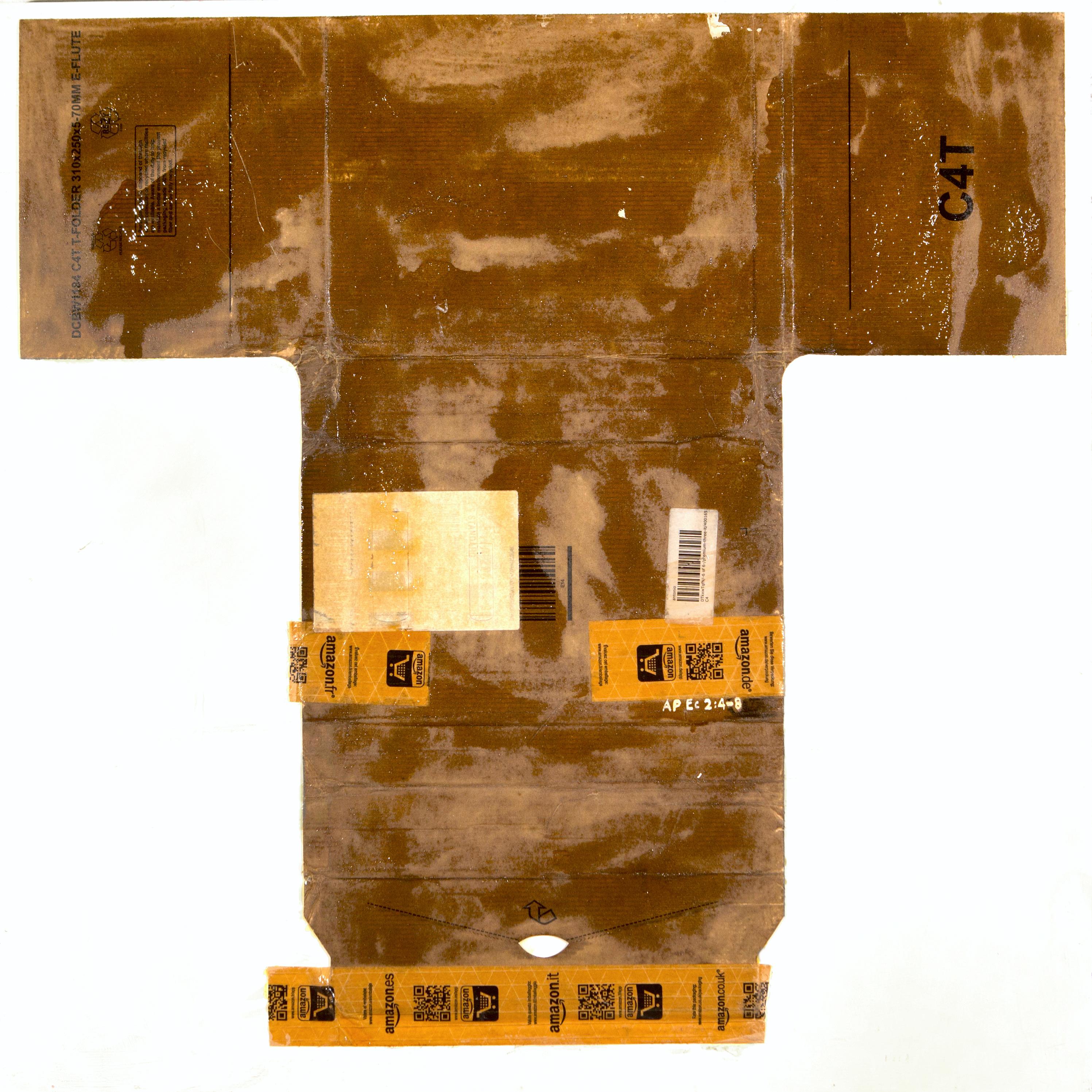 AP Ec 2_4-8, 2015, tecnica mista, cartone su tavola, cm 80 x 80