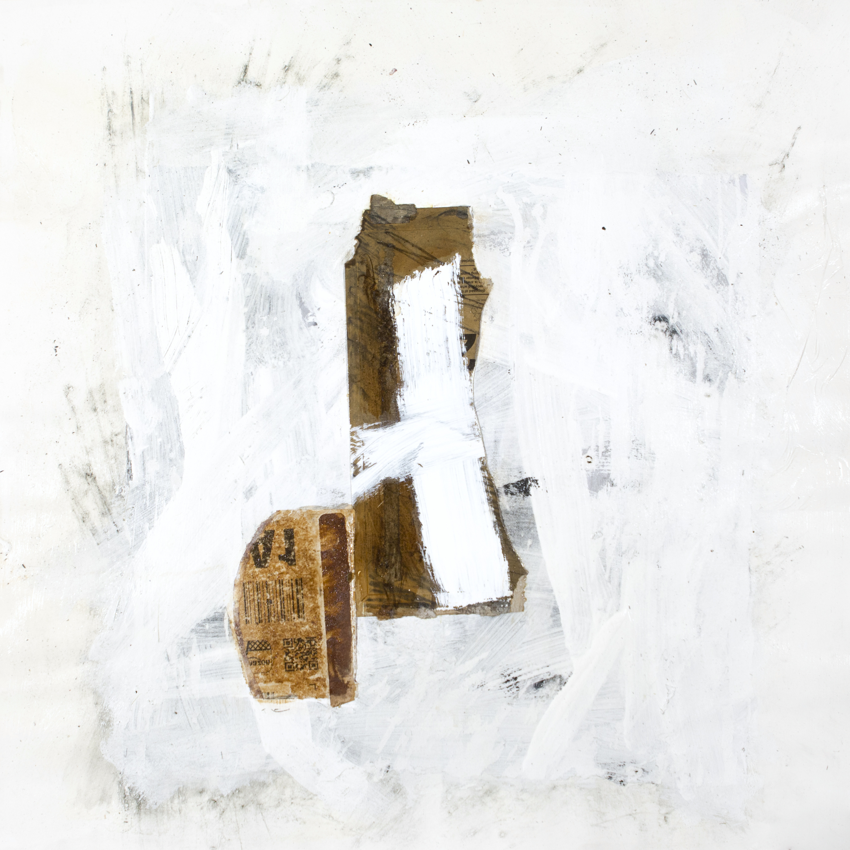 AP Ec 9_5, 2015, tecnica mista, cartone su carta, cm 50 x 50