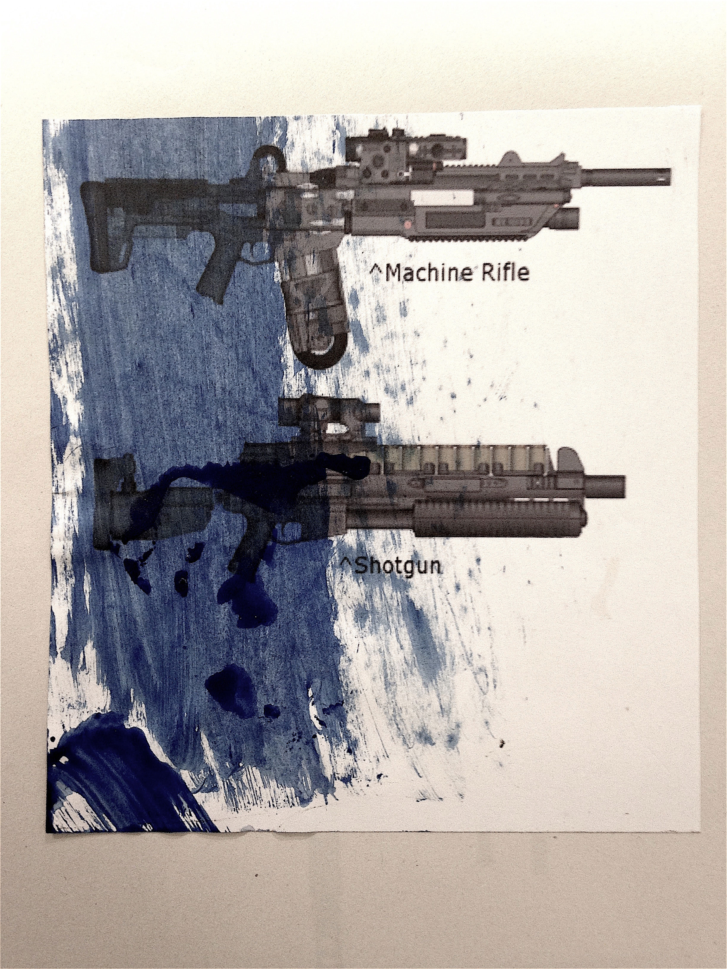 MACHINE-RIFLE