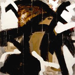 AP Ec 4_6, 2011-2015, tecnica mista, cartone su tavola, cm 80 x 80