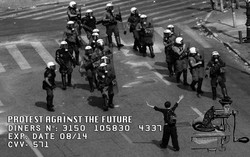PROTEST AGAINST THE FUTURE