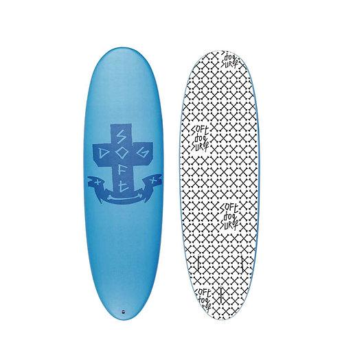 2021 Soft Dog Great Dane 6'2 Soft Top Surfboard