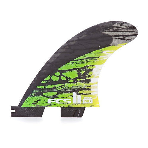 FCS II Shaper Series Matt MB Biolos Mayhem Thruster PC Carbon
