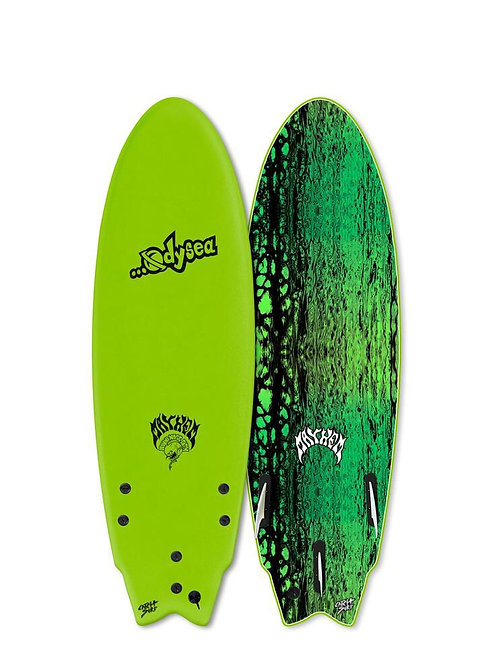 """2019 Odysea 5'11"""" Lost Round Nose Fish (Green)"""