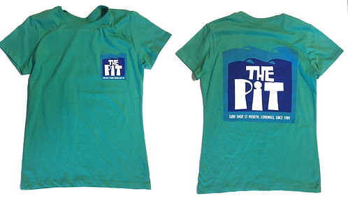The Pit Surf Shop Women's T-Shirt (Various Colourways)