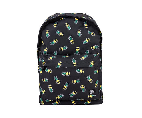 Wave Bandit Ben Gravy Pineapple Backpack Black