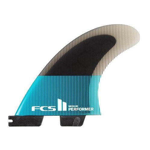 FCS II Performer Thruster PC Medium Tri Fins