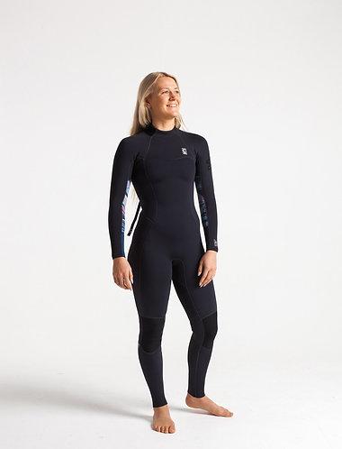 2020 C-Skins Solace 4/3mm Women's Back-zip Steamer